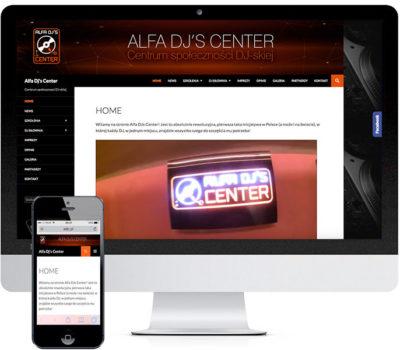 Logo i strona internetowa z systemem rezerwacji